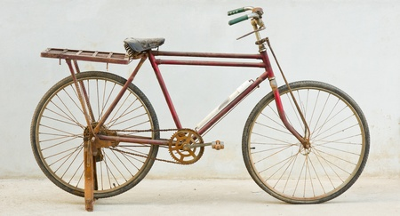 old bicycle Stock Photo - 18587035
