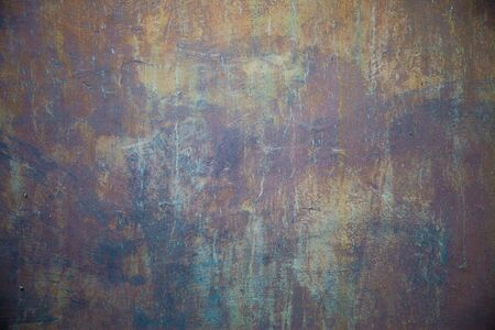 multi colors: A old wall scratched in multi colors way