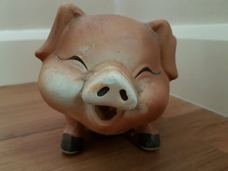 decoration: Pig decoration Stock Photo