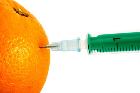inject: an image pointing out the concept of food adulteration