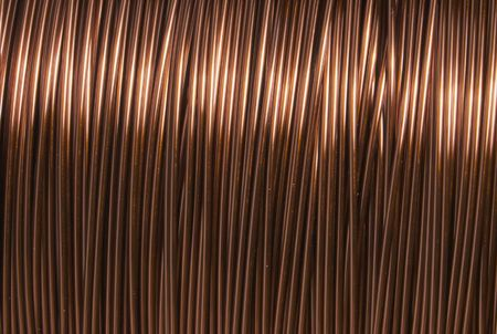 Technological background from a copper wire