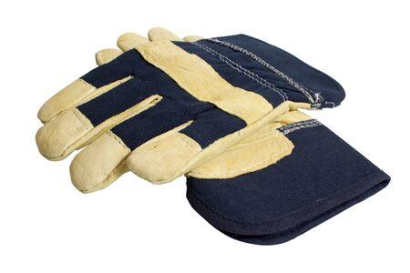 safety Denim Work Gloves for industrial use photo