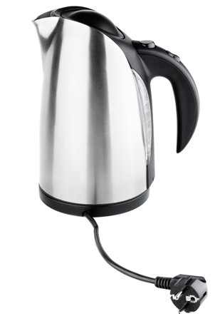 Stainless steel electric kettle Stock Photo - 8088319