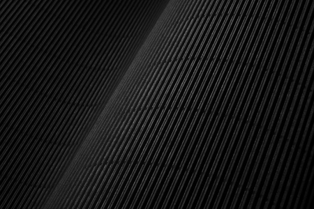 the abstract striped background of black carton