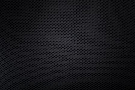 gebreide zwarte achtergrond met lichte vlek in het midden