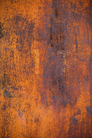 Old yellow rusty metal surface grounge background Imagens
