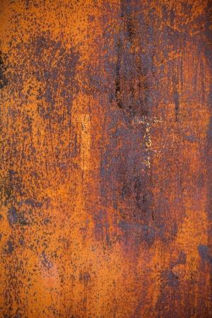 Oude gele roestige metalen oppervlak grounge achtergrond