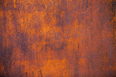 Old yellow rusty metal surface grounge background Reklamní fotografie