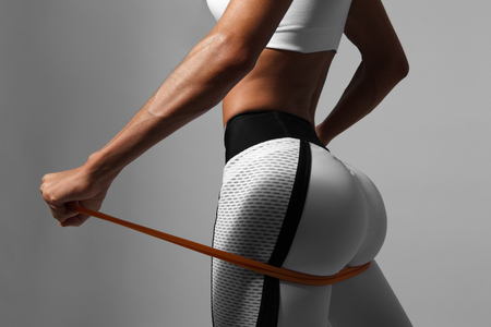 female back and buttocks