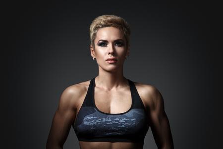 Brutale donna atletica