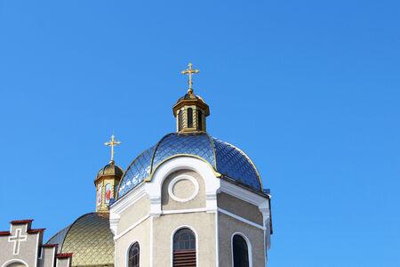 dome: church dome Stock Photo