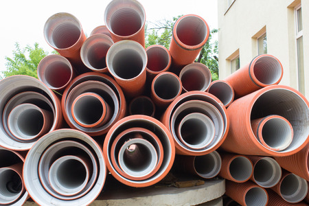 sewer: New sewer pipes