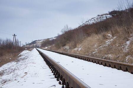 wilderness area: wilderness area winter travel railways steel Flights
