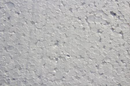 styrene: new white abstract texture for background Styrofoam