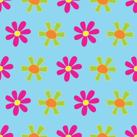 Light Blue Flower Rain Seamless Repeat Pattern. Perfect for backgrounds, and use in scrapbook projects, packaging, decor, decoration, craft projects, card making, fabric, and textile printing.