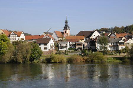 wertheim: kreuzwertheim Stock Photo