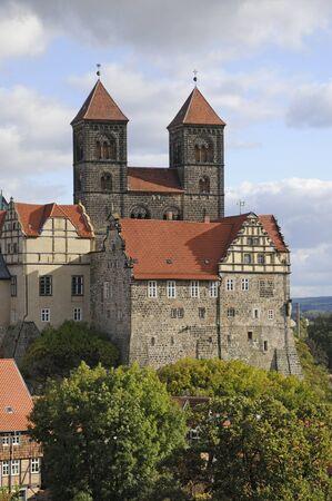 collegiate: castle and collegiate church in quedlinburg
