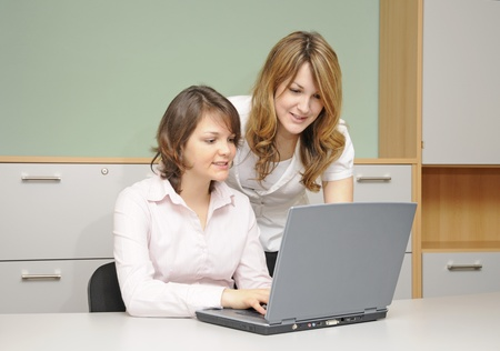 young women in the office photo