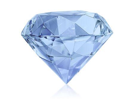 Diamante claro grande Foto de archivo