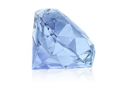 Large Clear Diamond Stock Photo