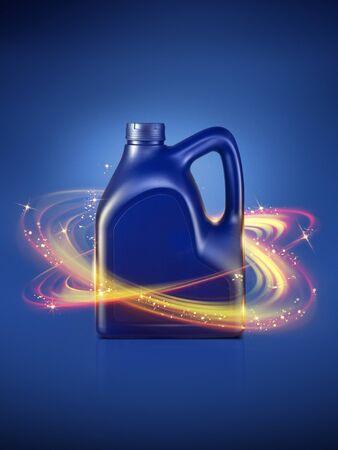 Bottle engine oil