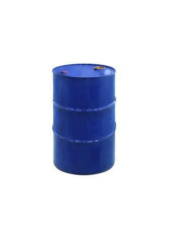 Oil barrel isolated on white