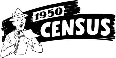 censo: 1950 Censo