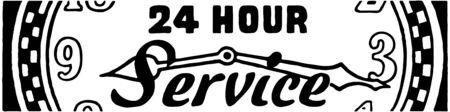 24 hour: 24 Hour Service