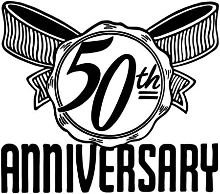 headings: 50th Anniversary Illustration