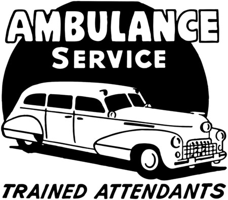 motorists: Ambulance Service Illustration