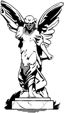 Statue Angel  Banque d'images - 28332190