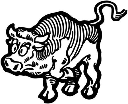 toro arrabbiato: Angry Bull