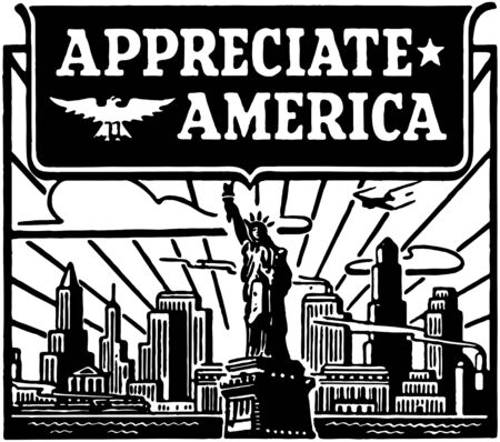 Appreciate America Vector