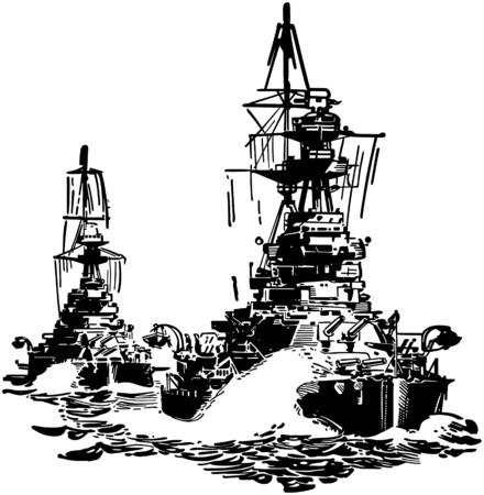 approaching: Approaching Battleships