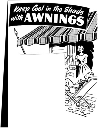 lounging: Awning Ad