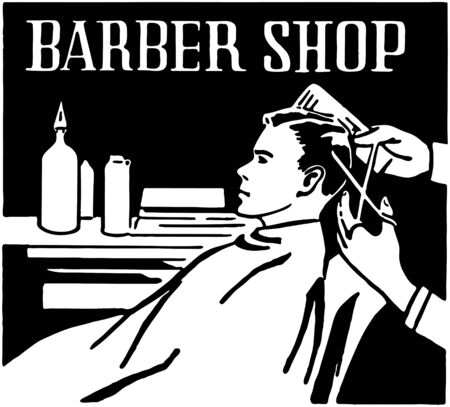 Barber Shop Stock Illustratie