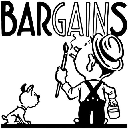 Bargains Vector