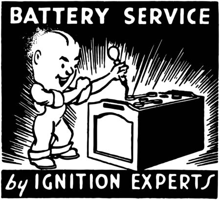 Battery Service 2 Vector