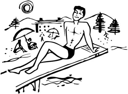 Beach Fella Ilustração