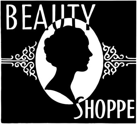 Beauty Shoppe Vector