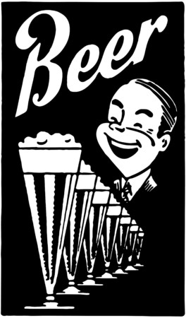 delighted: Beer Illustration