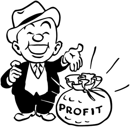 wealthy man: Big Profit