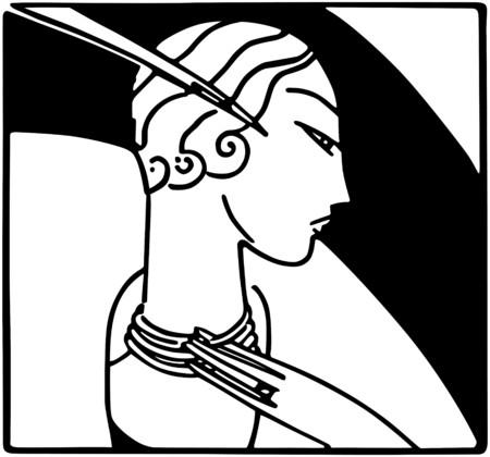 flappers: Art Deco Moda Belleza