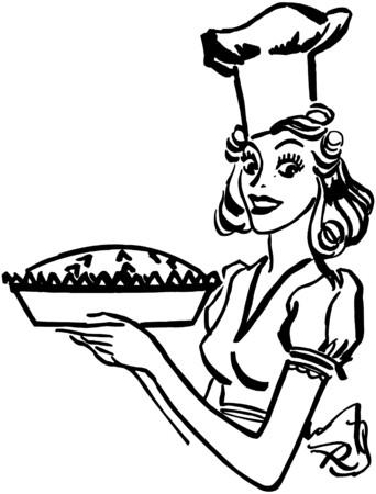 Baking Queen Vector