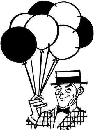 fairs: Balloon Man