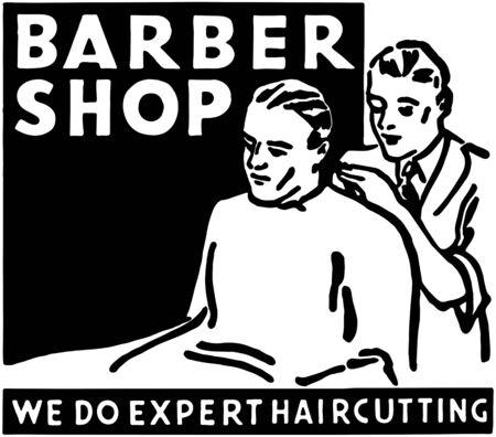 Barber Shop 2 Vector