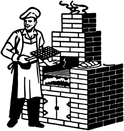 Brick Barbeque Royalty Free Cliparts Vectors And Stock