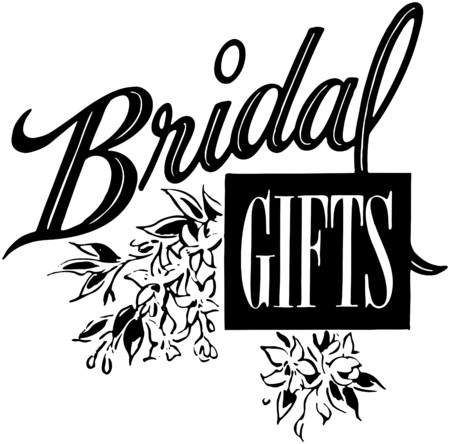 Bridal Gifts Vector