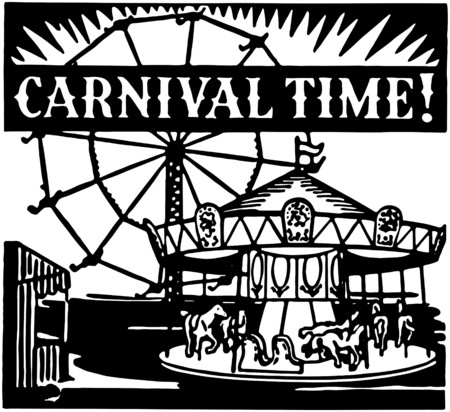 fairs: Carnival Time Illustration