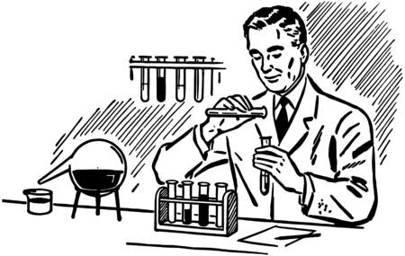 Chemicus 2 Stock Illustratie